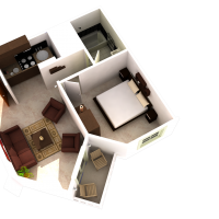 Example 1 bedroom layout