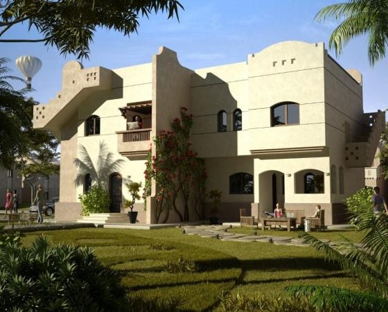3D Model of the Villa